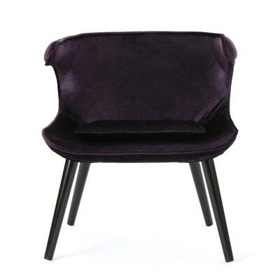 Disanto Barrel Chair Upholstery: Blackberry