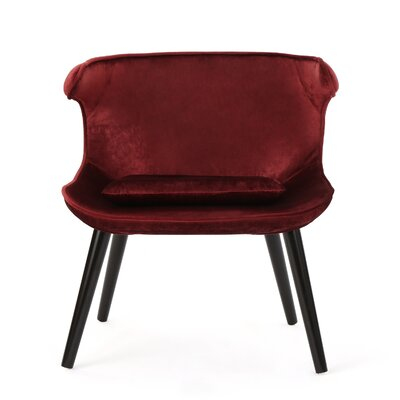 Disanto Barrel Chair Upholstery: Garnet