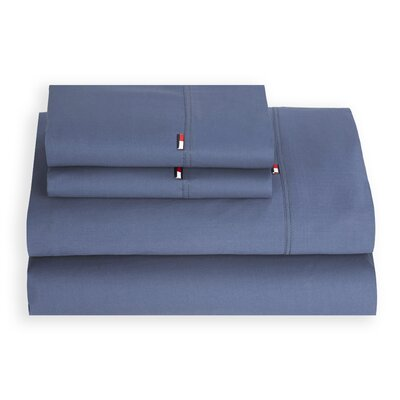 Signature 200 Thread Count 100% Cotton Sheet Set Size: King, Color: Colony Blue