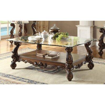 Elliana Coffee Table Table Base Color: Cherry Oak