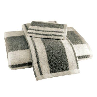 Benedetta 3 Piece Towel Set Color: Gray