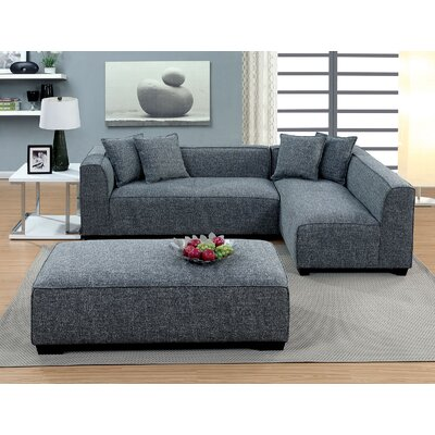 Neumann Sleeper Sectional with Ottoman