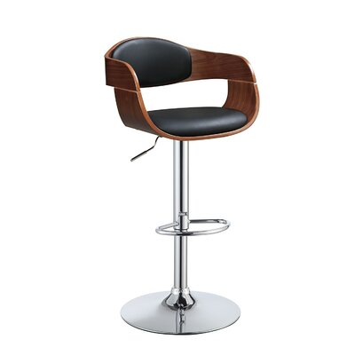 Dove Springs Adjustable Height Swivel Bar Stool