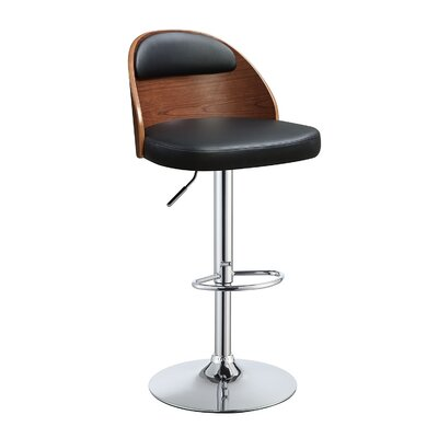Douglaston Adjustable Height Swivel Bar Stool