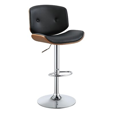 Dinan Adjustable Height Swivel Bar Stool