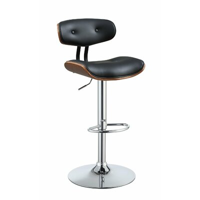 Dineen Adjustable Height Swivel Bar Stool