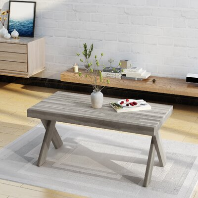 Coffee Table Color: Sandblast Light Gray