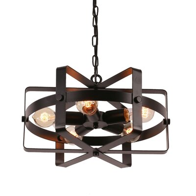Mcavoy 5-Light Geometric Pendant
