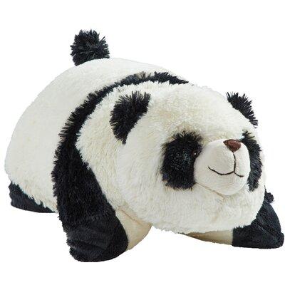 Comfy Panda Plush Chenille Throw Pillow