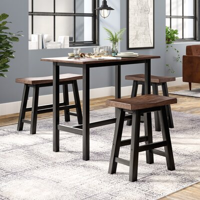 Chelsey 4 Piece Bistro Table Set Color: Dark Espresso