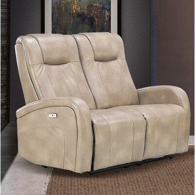 Hiller Dual Reclining Loveseat Upholstery: Sierra Cream
