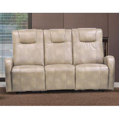 Hiller Dual Reclining Sofa Upholstery: Sierra Cream