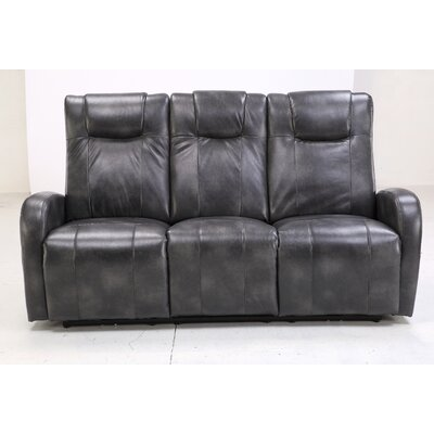 Hiller Dual Reclining Sofa Upholstery: Steel Gray