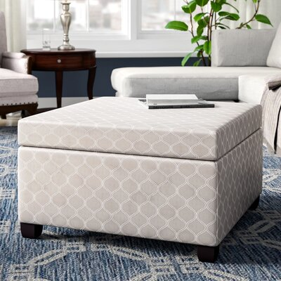 Corben Storage Ottoman Finish: Gray