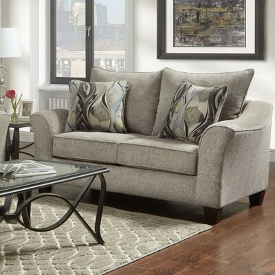 Clarwin Cafe Loveseat Finish: Camero Platinum