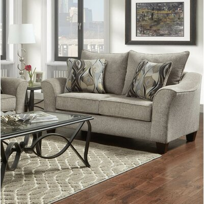 Clarwin Cafe Sofa Finish: Camero Platinum