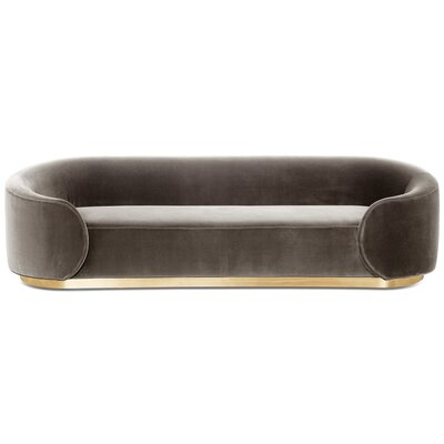 Eden Rock Sofa Upholstery: Dark Gray