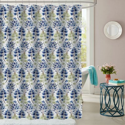 Hohman Polyester Shower Curtain