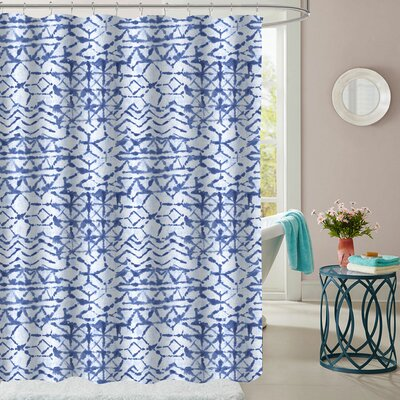 Wedgeport Polyester Shower Curtain