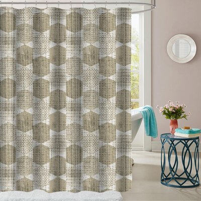 Cypress Polyester Shower Curtain