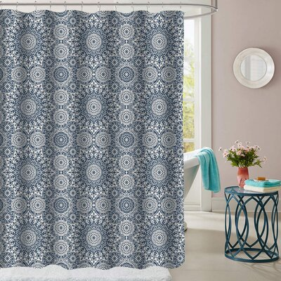 Yellow Pine Polyester Shower Curtain