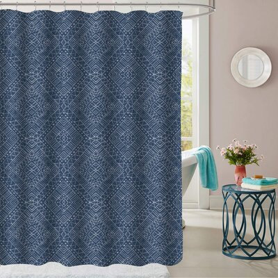 Zirkel Polyester Shower Curtain