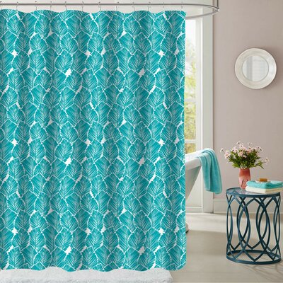 Micelotta Leaf Polyester Shower Curtain