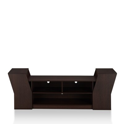 Weidel 71 TV Stand Color: Espresso