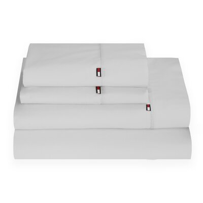 Signature 200 Thread Count 100% Cotton Sheet Set Size: Full, Color: Microchip