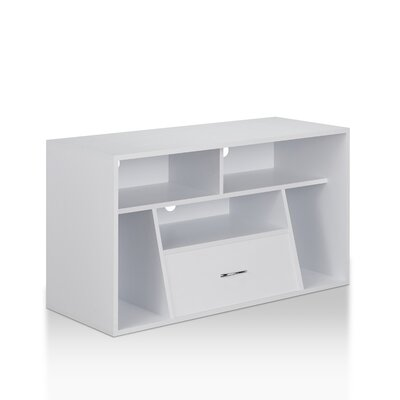Karakoudas 39 TV Stand Color: White