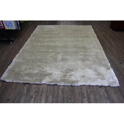 Patchell Hand-Tufted Cool Beige Area Rug