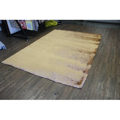 Vaught Hand-Tufted Gold Area Rug