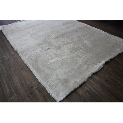 Patchell Hand-Tufted Ivory Area Rug
