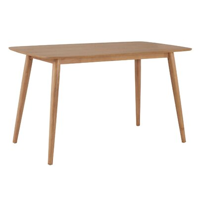 Drye Mid-Century Counter Height Dining Table Color: Oak