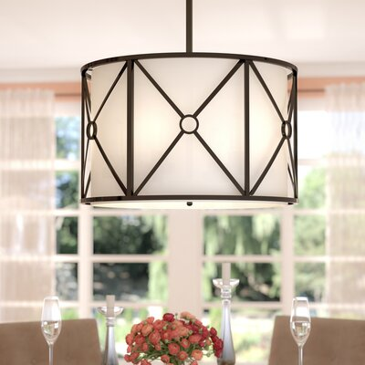 Ferrell 6-Light Drum Chandelier Finish: Vintage Oiled Bronze