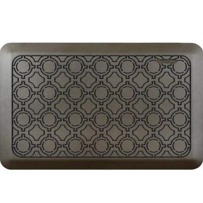 Jhonson Moroccan Kitchen Mat Mat Size: Rectangle 18 x 28, Color: Sycamore