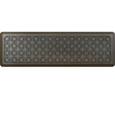 Jhonson Moroccan Kitchen Mat Mat Size: Rectangle 18 x 56, Color: Sycamore