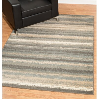 Aslan Gray Area Rug Rug Size: Rectangle 9 x 12