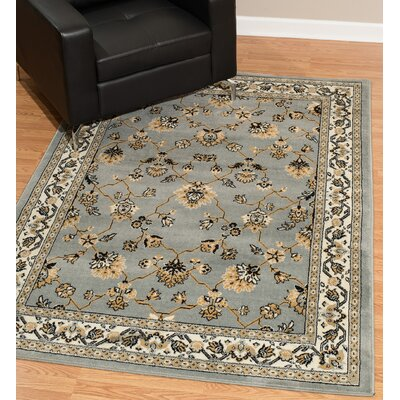 Kindel Beige/Gray Area Rug Rug Size: Rectangle 9 x 12