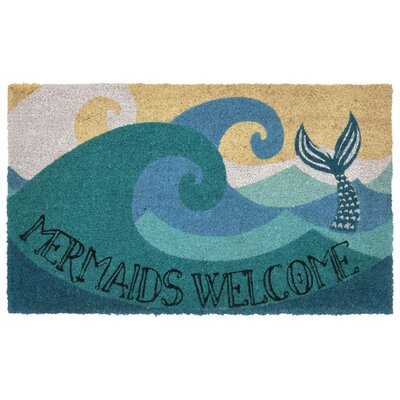 Walton Bay Mermaids Welcome Utility Mat