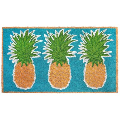 Brookstone Pineapples Utility Mat