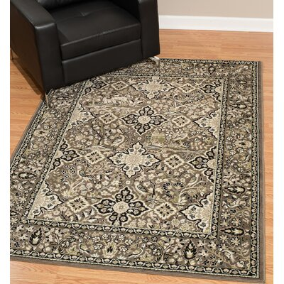 Kindel Taupe Area Rug Rug Size: Rectangle 9 x 12