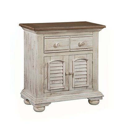 Wabansia 1 Drawer Nightstand