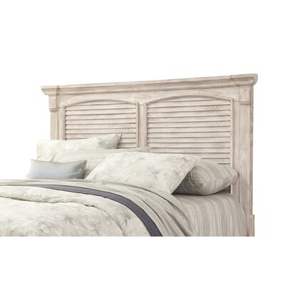 Wabansia Panel Headboard Size: King