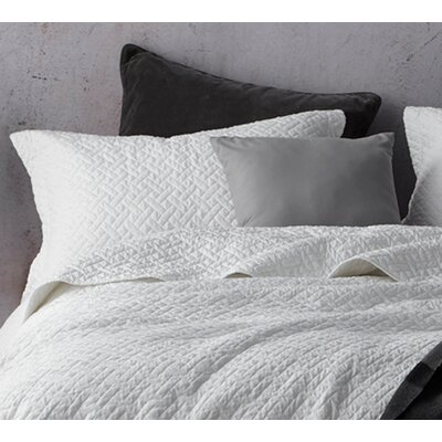 Mccollom Supersoft Pre-Washed Sham Size: Standard Sham, Color: White