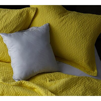 Mccollom Supersoft Pre-Washed Sham Size: King Sham, Color: Limelight Yellow