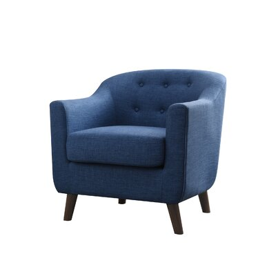 Anthony Armchair Upholstery: Blue