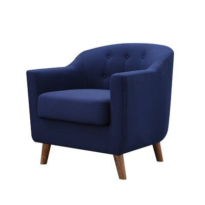 Anthony Armchair Upholstery: Royal Blue