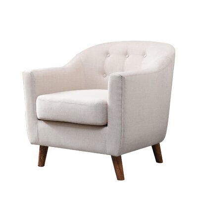 Anthony Armchair Upholstery: Cream