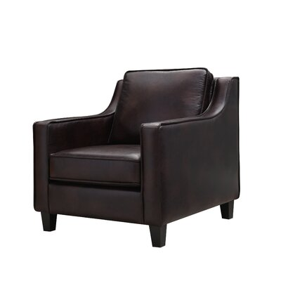 Lampkin Armchair Upholstery: Brown